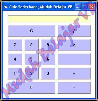 Form Kalkulator